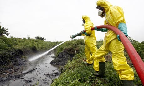 cleaning up toxic waste